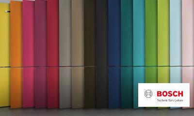 Bosch Vario Style Kühlschrank : Bosch vario style kühlschränke mit farbigen fronten
