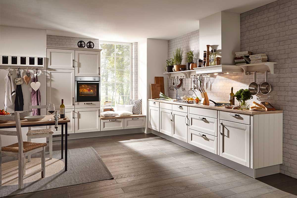 Die Landhausküche - vorwärts zurück in die Romantik - Küchen ...